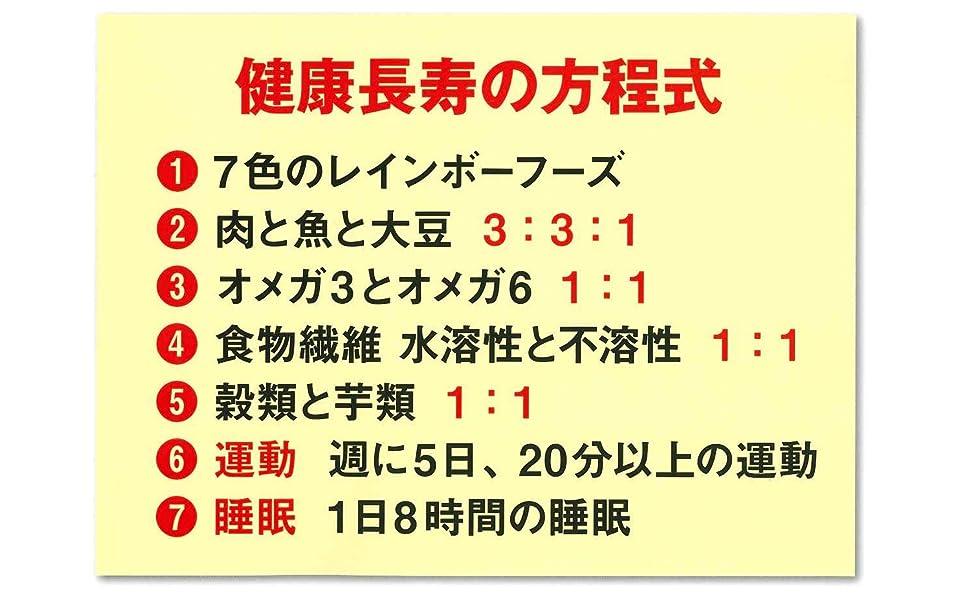 笠倉出版社 健康長寿の方程式