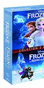 Frozen II frozen pack BD disney bluray