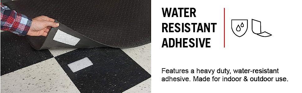 Velcro  Industrial Strength  Hook and Loop Fastener  1-7//8 in W Black  4 pk