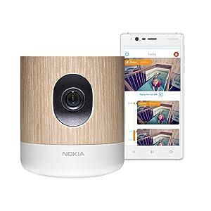 Nokia Home - Caméra connectée avec contrôle de la qualité