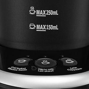 Amazon Com Gourmia Gmf235 Cordless Electric Milk Frother