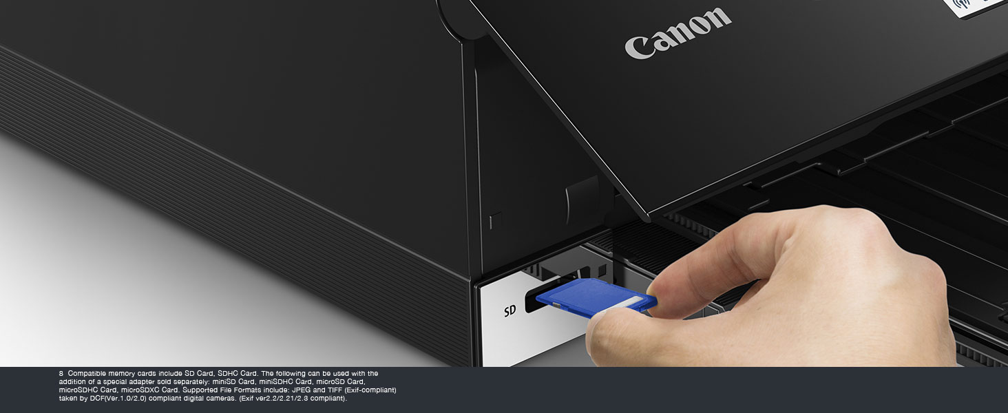 Compatible with SD Memory Cards