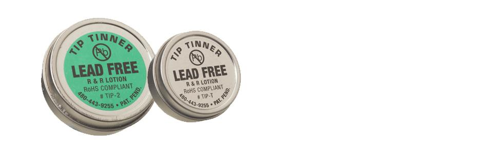r r lotion tip t i c lead free tip tinner 1 2oz size for soldering iron tips science lab. Black Bedroom Furniture Sets. Home Design Ideas