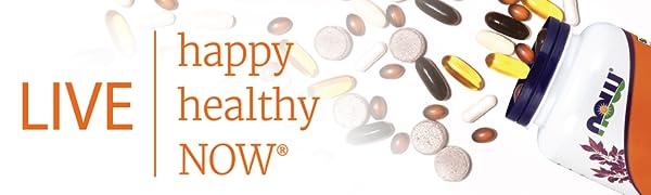 live healthy happy now