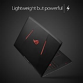 "ROG Strix GL502VS 15.6"" G-SYNC VR Ready Thin and Light Gaming Laptop, GeForce GTX 1070 8GB"