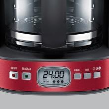 Inox Spazzolato 1080 W Electrolux EKF7500 Macchina per caff/è Americano 10 Cups Acciaio Plus