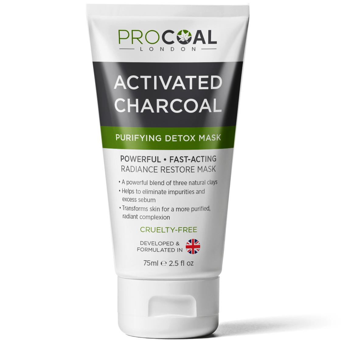 Quick Skin Revamp Diy Charcoal Mask: Purifying Charcoal Face Mask 75ml By PROCOAL