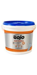 ... GOJO Fast Towels