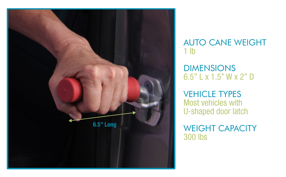 auto cane lightweight portable vehicle car emergency accessory bar auto assist grab handle standing