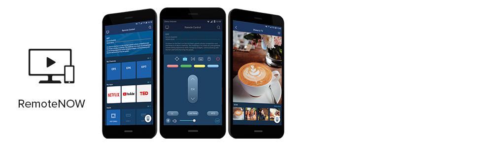 remotenow app telecomando tastiera touchpad