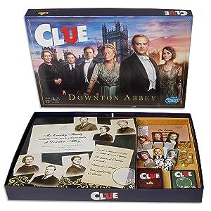 cluedo, clue, downton abbey