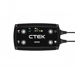 Ctek D250se Batterieladegerät 12 V 2 Lichtmaschinen Eingänge Solarbetrieben Bis 20 A Navigation