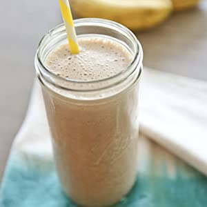 smoothie con proteine vegane