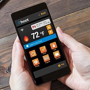 thermostat wifi smartphone app