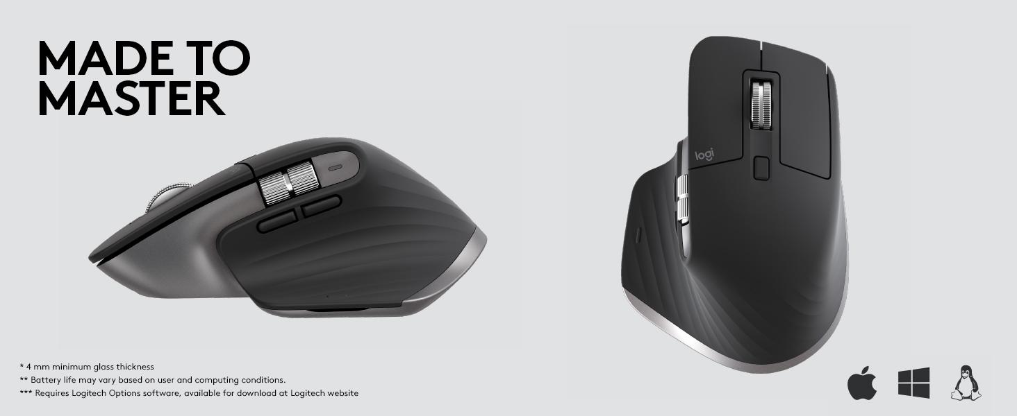 Amazon com: Logitech MX Master 3 Advanced Wireless Mouse