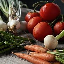 tomatos onion carrots