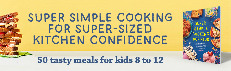 Kids cookbook, childrens books by age 9 to 12, children cookbook, kids baking cookbook