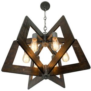 varaluz, hand-applied finish, industrial lighting