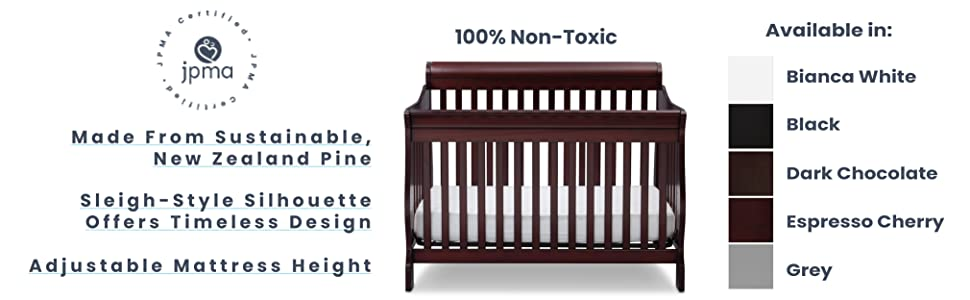 delta children baby crib nursery furniture safety toddler infant products