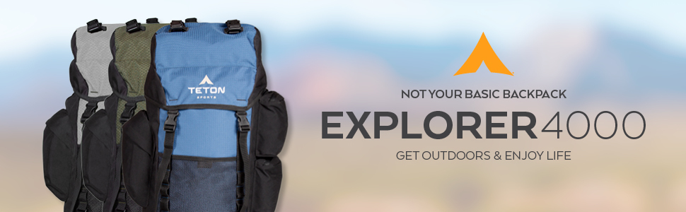 The Explorer4000 by TETON Sports is not your basic backpack. It's thoughtfully designed just for you