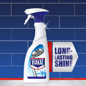 Clean and prevent limescale with Viakal Classic spray