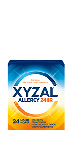 Xyzal 24 Hour Adult Allergy Medicine