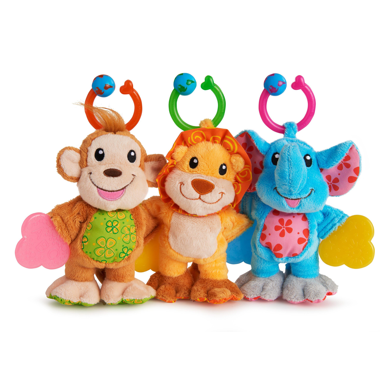 Amazon Munchkin Teether Babies Plush Teething Toy Lion
