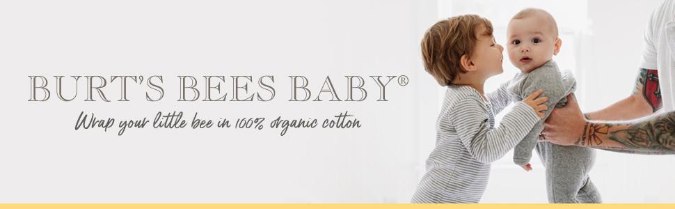 Burts Bees Baby Organic Cotton Clothing Bedding Nursery Infant Girl Boy Unisex Newborn 3M Toddler 6M