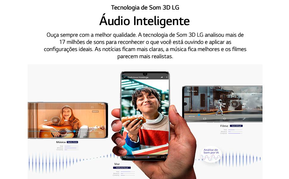 áudio inteligente