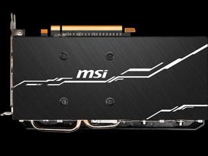 MSI Radeon RX 5700 MECH backplate