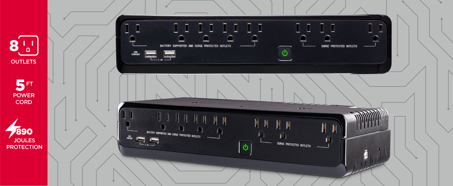 CyberPower SL700U Standby UPS System - Hotspots