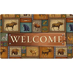 outdoors;wildlife;wild;animal;bear;moose;deer;fish;leaf;acorn;fall;autumn;leaves;welcome;greeting