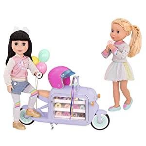 Emilia 14-inch doll glitter girls accessories outfit posable blonde toy horse wellie wisher american