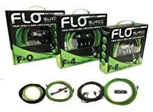 Surge F-4 Flo Series by Surge 4 Gauge 2000W AWG Amplifier Installation Wiring Amp Install Kit