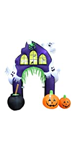 bzb goods bzbgoods halloween inflatables inflatable blow up decoration yard gemmy airblown blowup