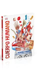 cuerpo humano;libro;3D;realidad aumentada;ilustraciones;infantil