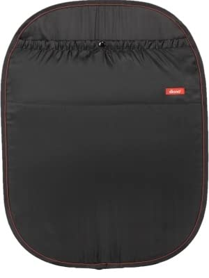 Diono Stuff n Scuff 40232 Car Seat Back Protector for Newborn and Above Black 2-Pack