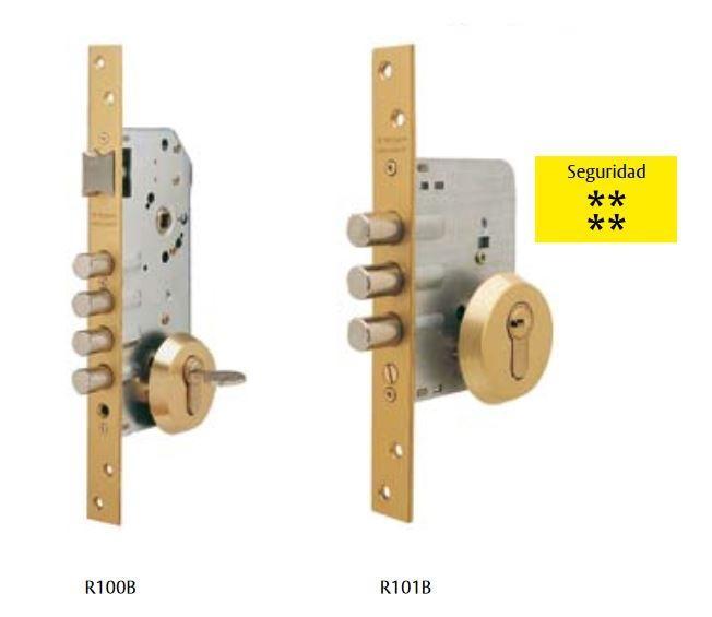 Cerraduras de seguridad R100B - R101B