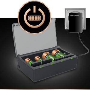 Duracell - Cargador de pilas en 1 hora, 1 unidad: Duracell: Amazon.es: Electrónica