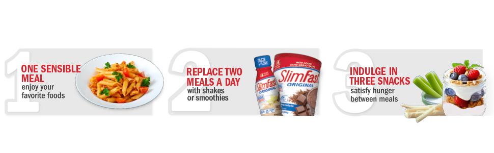 slimfast original smoothies powders