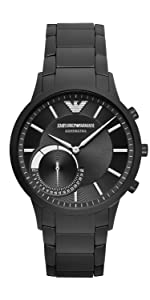 Amazon.com: Emporio Armani Mens Smartwatch 3 Touchscreen ...