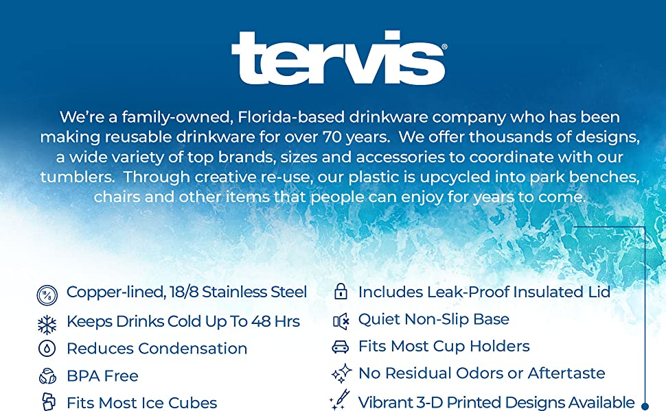 Tervis 17oz Water Bottle Stainless Steel