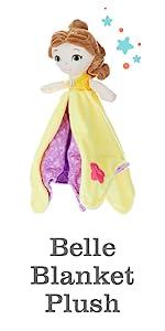 Disney Belle blanket plush