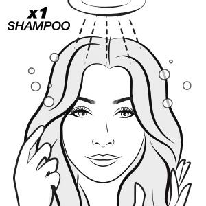 si rimuove con 1 shampoo