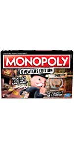 monopoly cheaters, monopoly, board game, monopoly board game