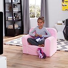 delta children foam snuggle chair toddler kids