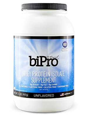 BiPro 100% Whey Protein Isolate, 2lb.