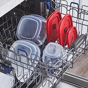 Dishwasher Safe Easy Find Vented lids