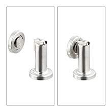 Quici confezione da 2/fermaporta magnetico cattura porta supporto blocca porta in acciaio INOX a parete pavimento fermaporta