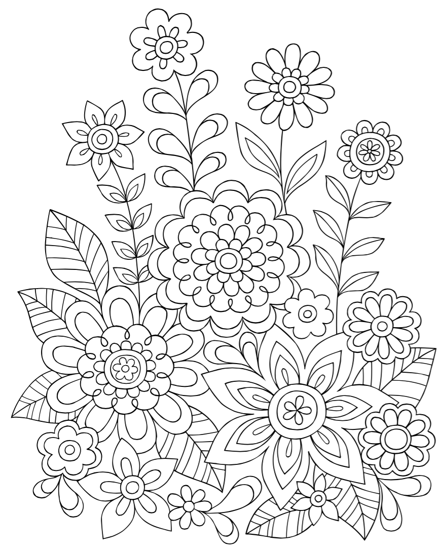 view larger - Design Coloring Books